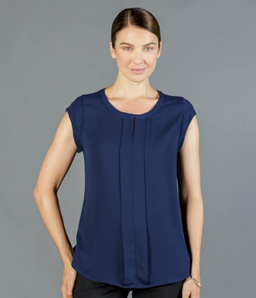 mackenzie box pleat top