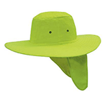 Luminescent Sun Hat with flap (4055)