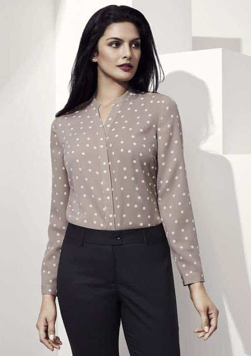 juliette spot blouse
