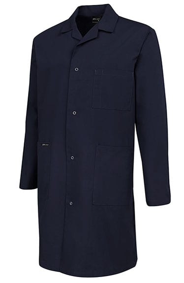 lab coat navy