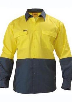 Bisley regular hi-vis shirt (BS6267)