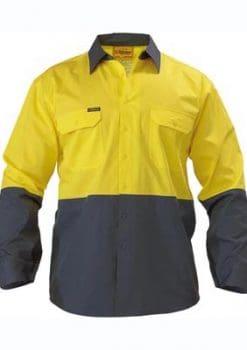 Bisley lightweight hi-vis shirt (BS6895)