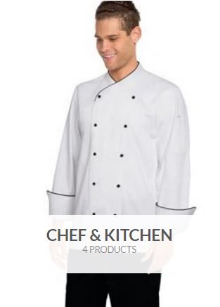chef kitchen uniforms