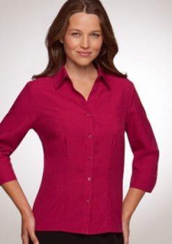 Ezylin-3-4-Sleeve-Shirt-Ladies-1115