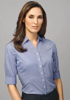 Hudson-3-4-Sleeve-Shirt-Ladies-1115