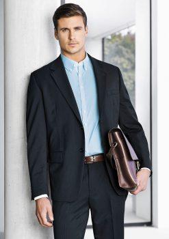 Mens-2-Button-Jacket-Plain-1115