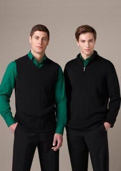 Mens-Knitted-Merino-Blend-Vest-1115