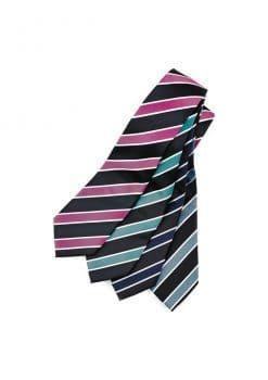 Mens-Wide-Contrast-Stripe-Tie-1115