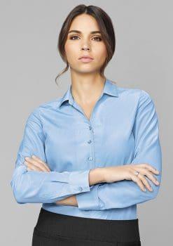 Solanda-Plain-Long-Sleeve-Shirt-Ladies-1115