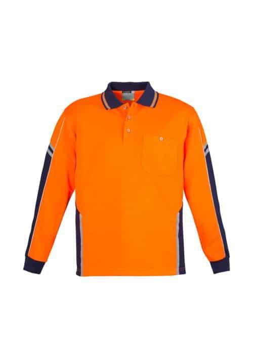 Unisex Hi Vis Squad Polo - Long Sleeve