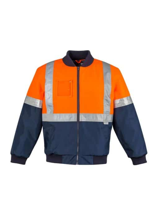 Hi Vis Quilted Flying Jacket