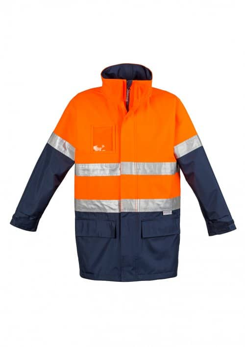 Hi Vis Waterproof Lightweight Jacket