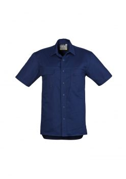 Mens Light Weight Tradie Shirt - Short Sleeve