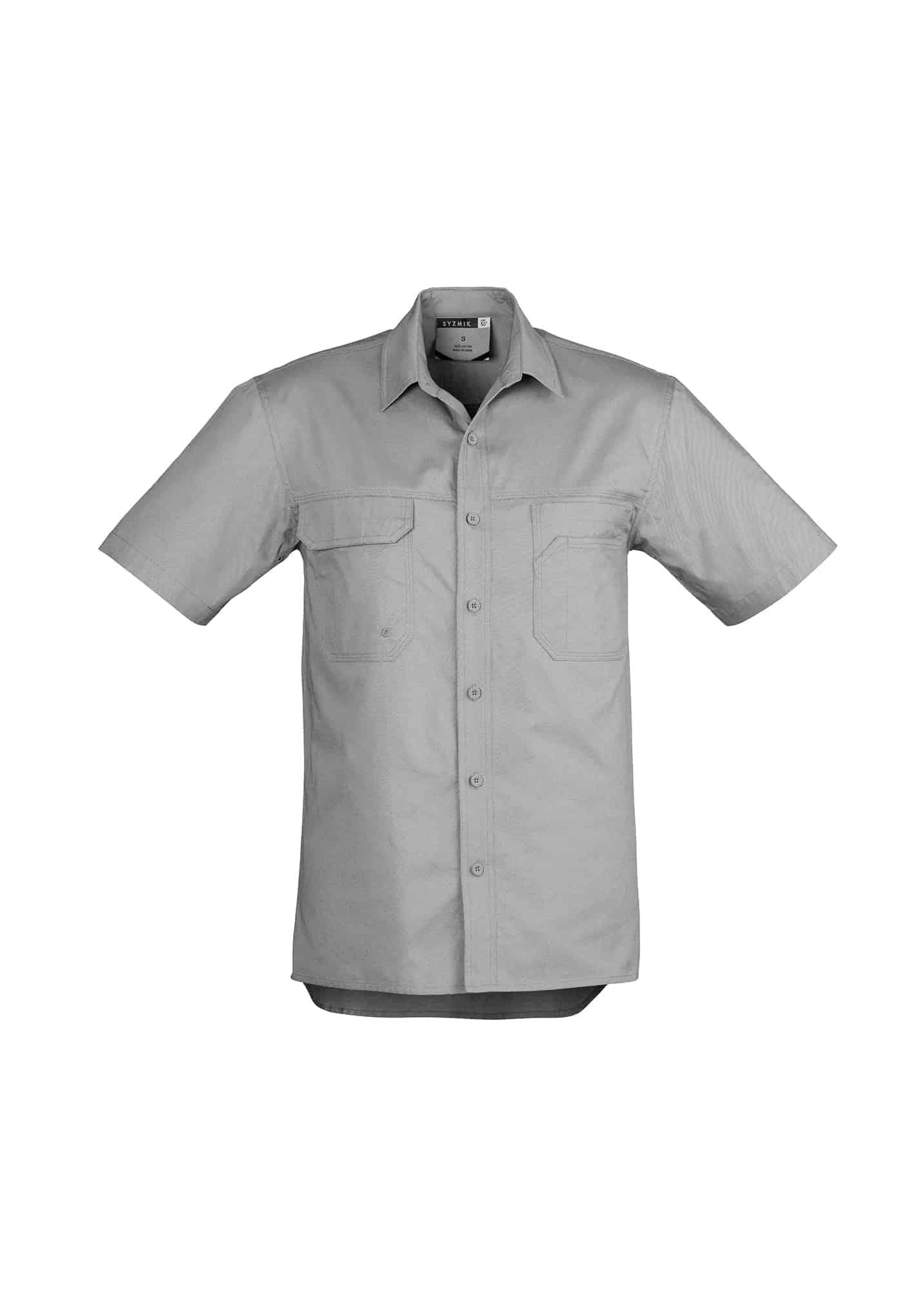 Mens Light Weight Tradie Shirt - Short Sleeve