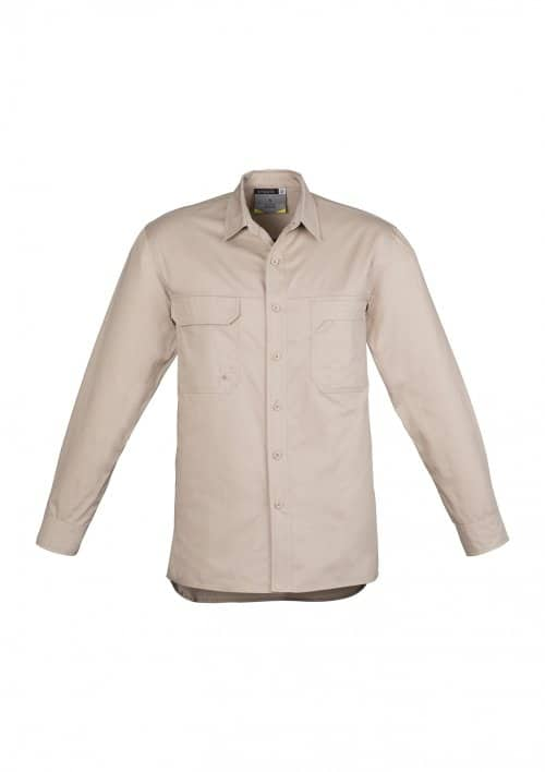 Mens Lightweight Tradie Shirt - Long Sleeve