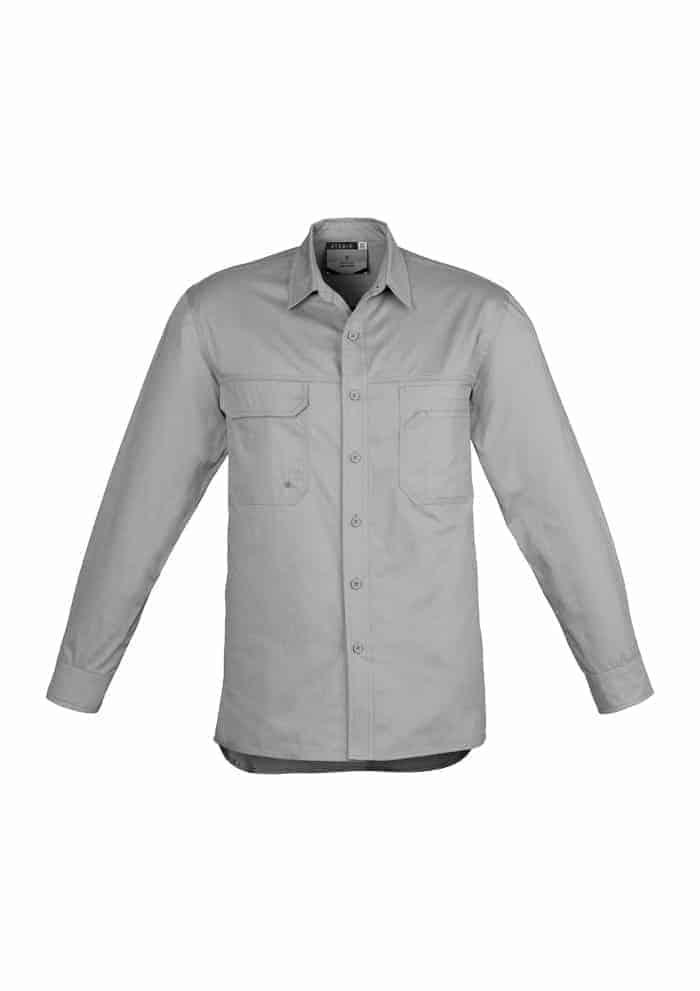 Mens Lightweight Tradie Shirt - Long Sleeve